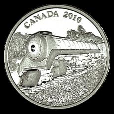 "20 $ Canada 2010 - Serie ""Lokomotiven"""