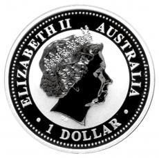 1 Oz. Australien - Kookaburra 2003