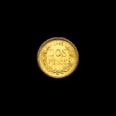2 Pesos Mexiko - 1945