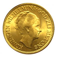 Niederlande - 10 Gulden - Wilhelmina (1925-1933)