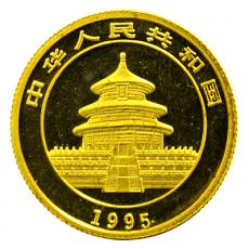 1/20 Oz. China - Panda 1995