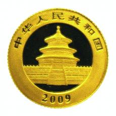 1/20 Oz. China - Panda 2009
