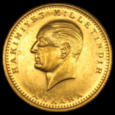 Türkei - 250 Kurush 1923/39 - Kemal Atatürk