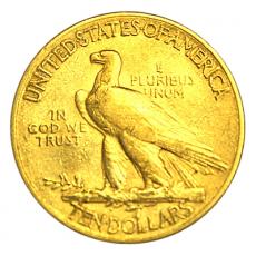10 Dollars USA - Indianer 1912