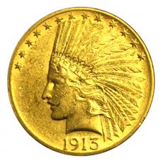 10 Dollars USA - Indianer 1913
