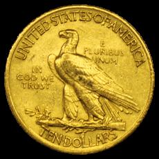 10 Dollars USA - Indianer 1915