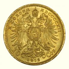 Österreich - 10 Kronen - 1912 (Nachprägung)