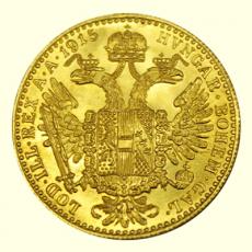 Österreich - 1 Dukat - 1915 (Nachprägung)