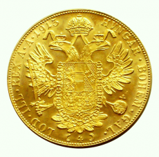 Österreich - 4 Dukaten - 1915 (Nachprägung)