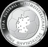 10 Euro - Fußball-WM Deutschland 2006   (2003 - Spgl.)