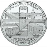 10 Euro - 100 Jahre U-Bahn in Deutschland (2002)