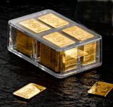 100 x 1 Gramm Goldbarren (Heimerle + Meule, Pforzheim)