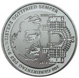 10 Euro - 200. Geburtstag von Gottfried v. Semper (2003)