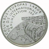 10 Euro - Columbus - Raumstation ISS (2004)
