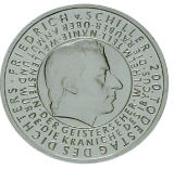 10 Euro - 200. Todestag Friedr. Schiller (2005)