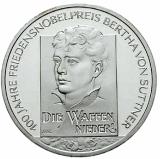 10 Euro - Bertha von Suttner (2005)
