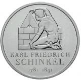 10 Euro - 225. Geburtstag Karl Friedr. v. Schinkel (2006)