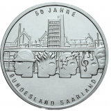 10 Euro - 50 Jahre Bundesland Saarland (2006)