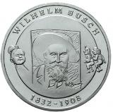 10 Euro - 175. Geburtstag Wilhelm Busch (2007)