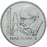 10 Euro - 150. Geburtstag Max Planck (2008)