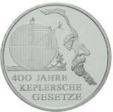 10 Euro - 400 Jahre Keplersche Gesetze (2009)