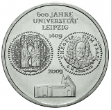 10 Euro - 600 Jahre Universität Leipzig (2009)