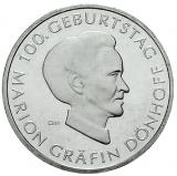 10 Euro - 100 Geburtstag Marion Gräfin-Dönhoff (2009)
