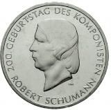 10 Euro - 200. Geburtstag Robert Schumann (2010)