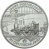 10 Euro - 175 Jahre Eisenbahn in Deutschland (2010)