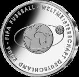 10 Euro - Fußball-WM Deutschland 2006   (2004 - Spgl.)