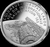 10 Euro - Columbus - Raumstation ISS (2004 - Spgl.)