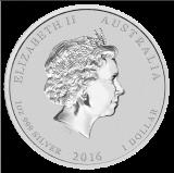 1 Oz. Australien - Affe 2016 (Lunar II)