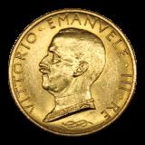 Italien - 100 Lire Vittorio Emanuelle III  1931 R / IX EF