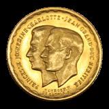 Luxemburg - 20 Francs - Hochzeit Pr. Jos. Charlotte u. Pr. Jean 1953