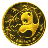 1/4 Oz. China - Panda 1985