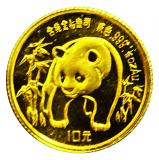 1/10 Oz. China - Panda 1986