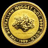 1/10 Oz. Australien - Nugget/Känguru 1989