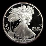 1 Oz. USA - American Eagle 1990 (Proof) - S - Originalbox