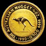 1/10 Oz. Australien - Nugget/Känguru 1990