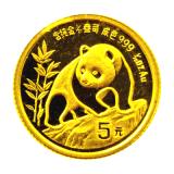 1/20 Oz. China - Panda 1990