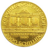 1 Oz. Österreich - Philharmoniker 1990
