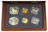 1991 Mount Rushmore Anniversary Coins (6-Coin Set)