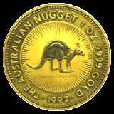 1 Oz. Australien - Nugget/Känguru 1992