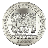5 Oz. Mexiko 1992 - Hist. Programm