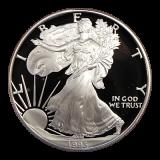 1 Oz. USA - American Eagle 1993 (Proof) - P - Originalbox + COA