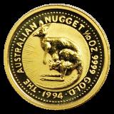 1/10 Oz. Australien - Nugget/Känguru 1994
