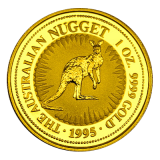 1 Oz. Australien - Nugget/Känguru 1995