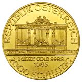 1 Oz. Österreich - Philharmoniker 1995
