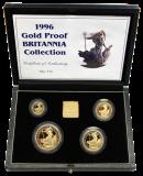 1,85 Oz. Britannia Gold-Proof-Set 1996