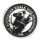 1/10 Oz. Australien - Koala 1998 - Platin